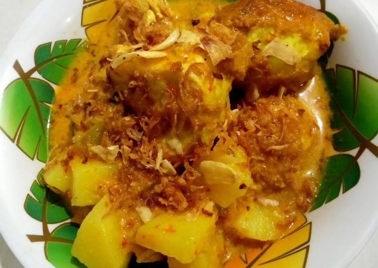Cara Mudah Membuat Kare Ayam telor kentang yang Bisa…
