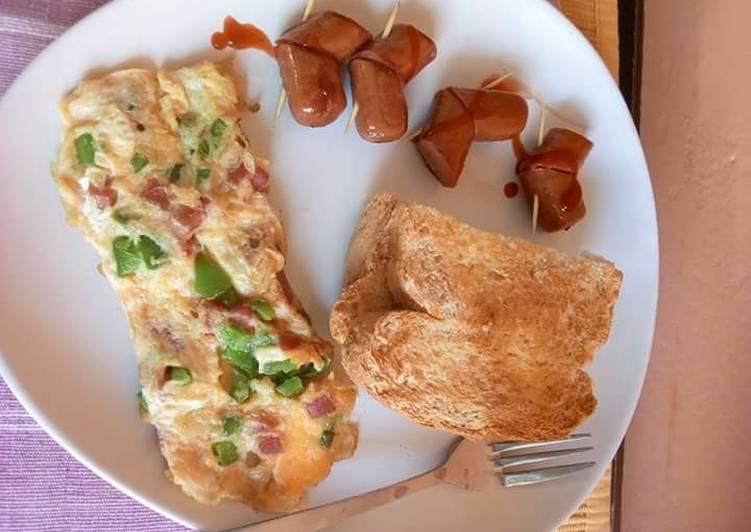 My heavy breakfast