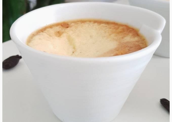 Crème caramel, vanille & tonka