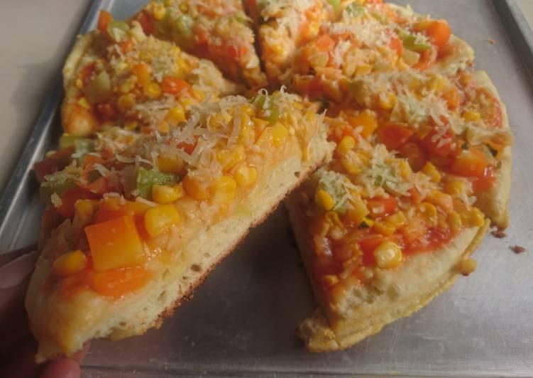 Pizza sayur sehat dan simpel ala mama