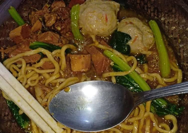 Resep Mie Ayam Bakso Yang Mudah Bikin Nagih
