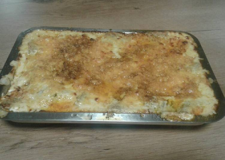 Recipe of Homemade Beef and Spinach Lasagna