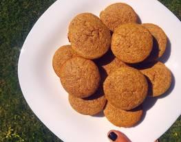 Muffins de banana saludables