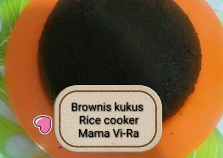 Brownis kukus Rice Cooker