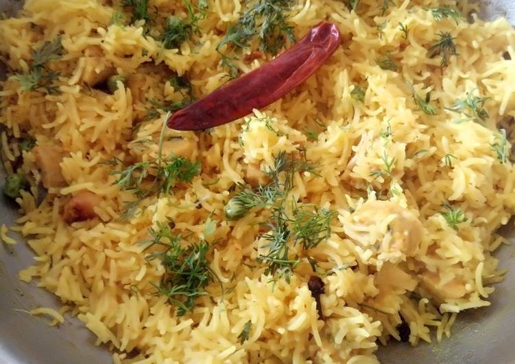 25 Minute Simple Way to Make Diet Perfect Gatte ki pulao