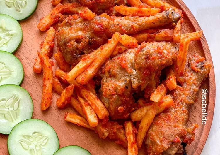 Ayam Goreng Kentang Balado (Gluten Free)