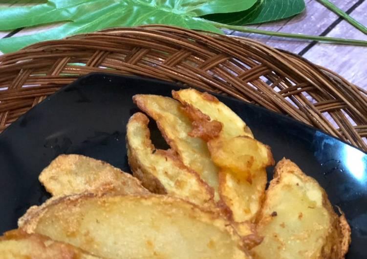 Potato Wedges  ala Tiger Kitchen