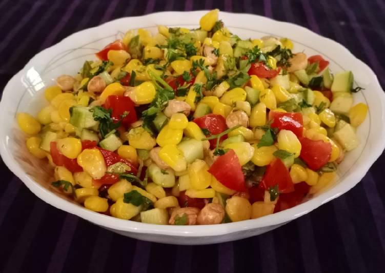 Recipe of Super Quick Homemade Corn cucumber salad