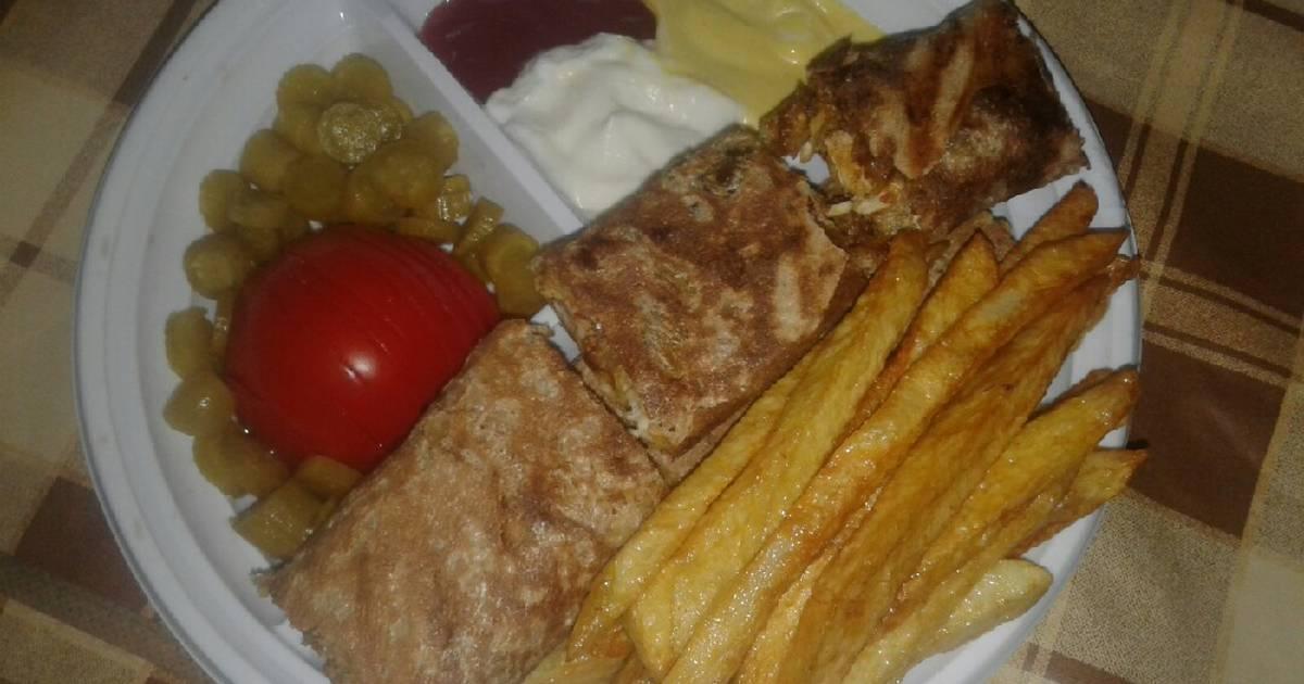 طريقة عمل شاورما دجاج لبنانية 79 وصفة شاورما دجاج لبنانية سهلة وسريعة كوكباد