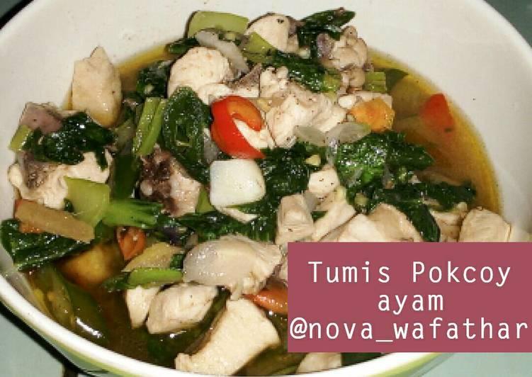 Tumis Pokcoy Ayam