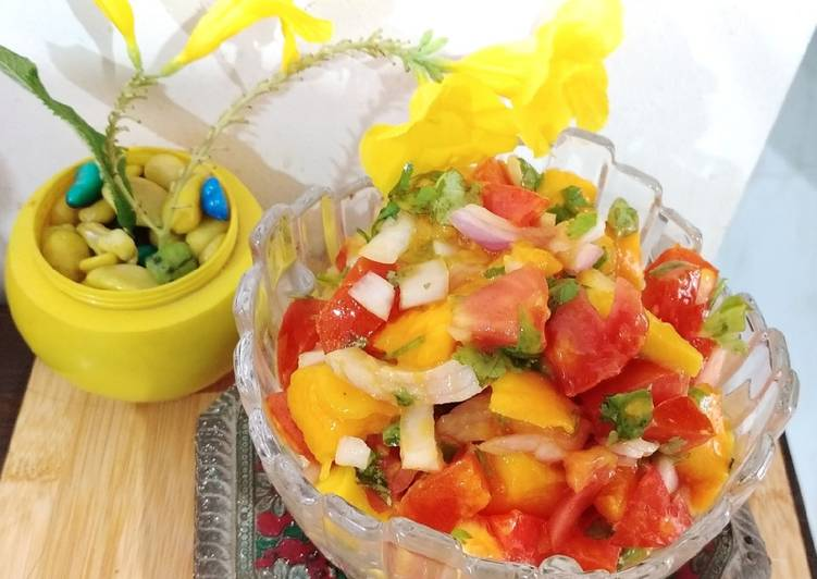 Simple Way to Prepare Award-winning Mango Salsa