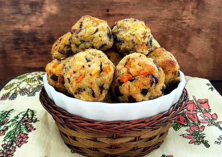 Ricetta Polpette di patate con verdure e olive