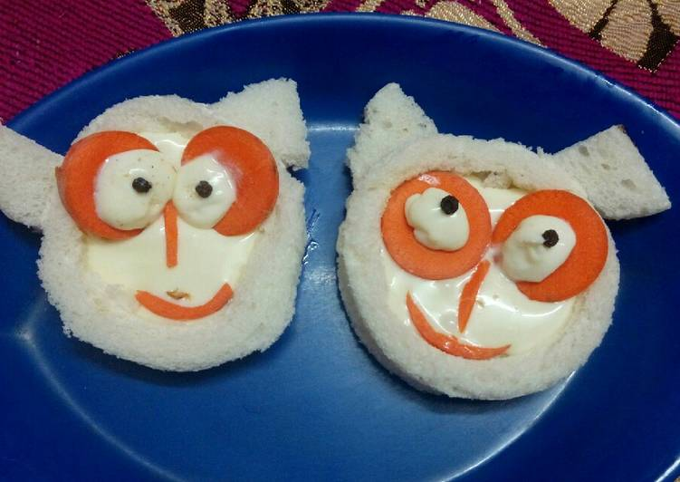 Recipe: Delicious Easy Spooky Halloween sandwich