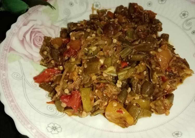 Easiest Way to Prepare Ultimate Bhindi ki sabzi