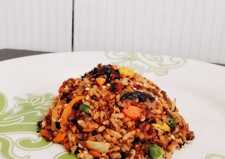 Nasi Goreng Kimchi Sehat Low Calories (+- 300 kkcal)