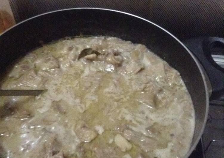 Resep Sayur nangka/gudeg putih Yang Mudah Pasti Ngiler