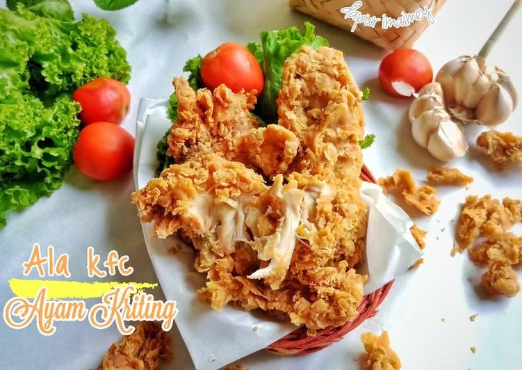 Ayam kriting ala KFC