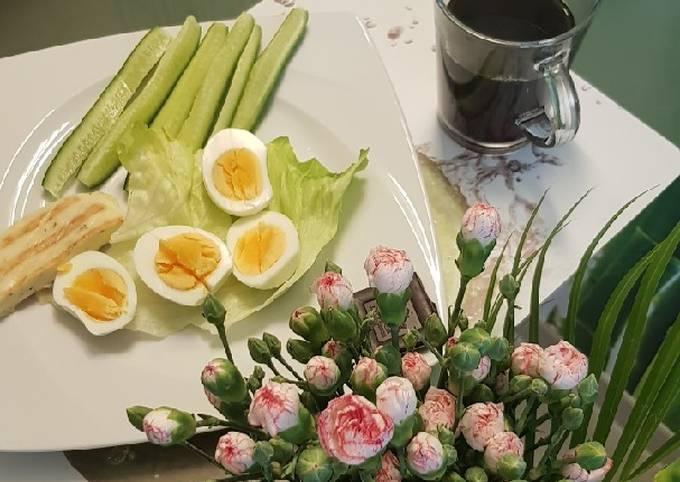 Gesundes Frühstück schnell, sättigend & einfach