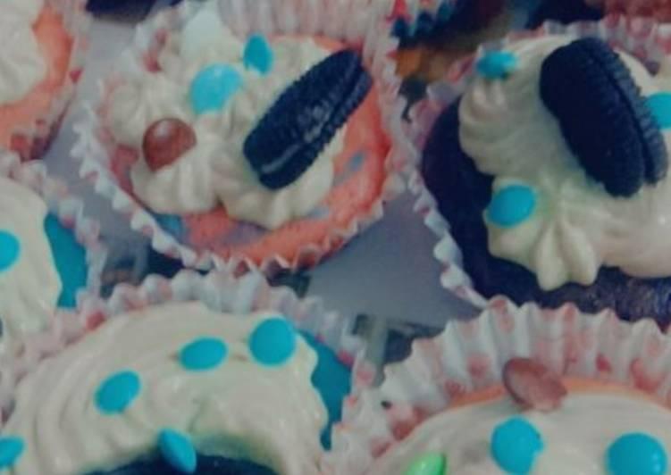 Simple Way to Prepare Perfect Oreo Cupcakes