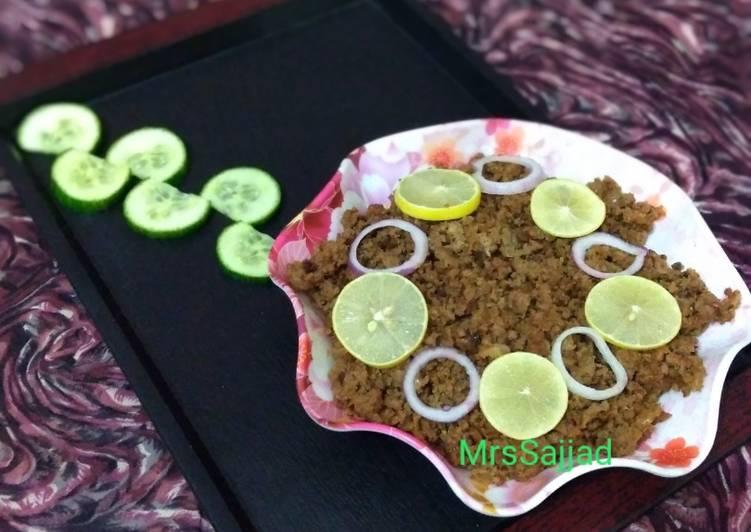 Steps to Prepare Any-night-of-the-week Bihari Qeema