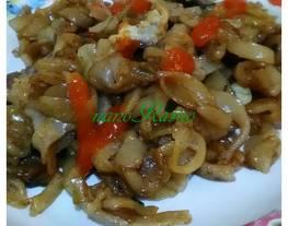 Kwetiaw goreng (dg kwetiaw homemade)
