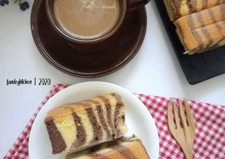 Ogura cake zebra