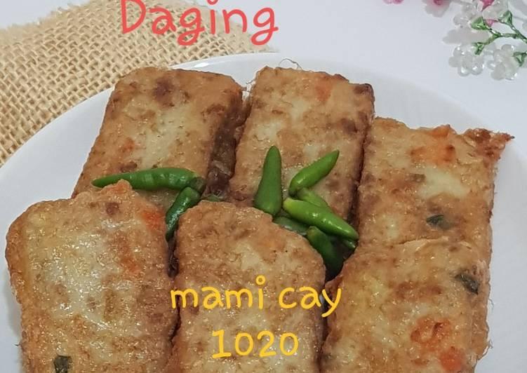 Misoa Goreng Daging Wortel