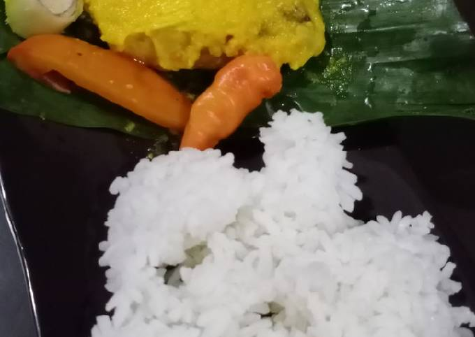 Pepes ayam diet