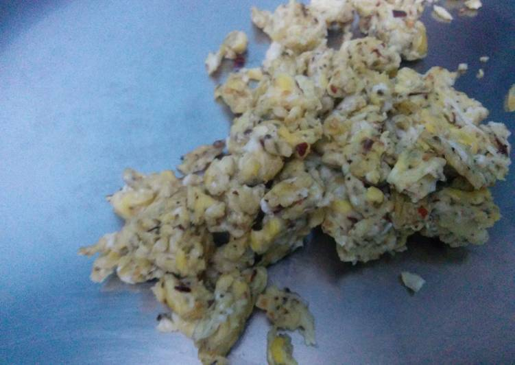 How to Prepare Ultimate Egg chilly oregano