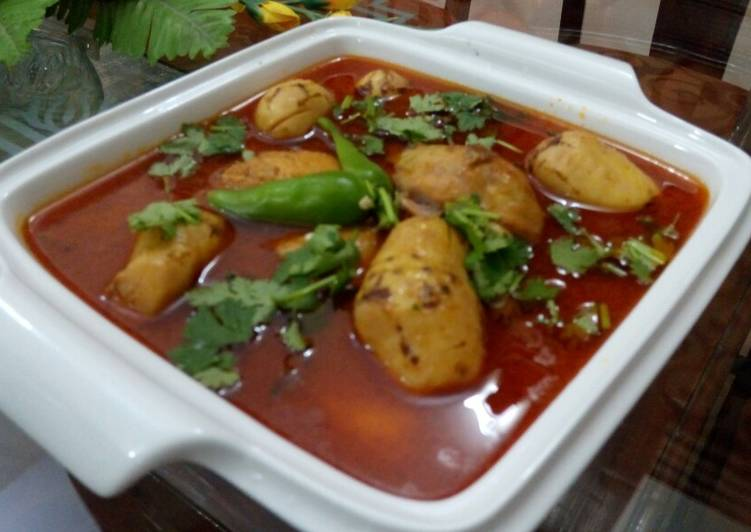 5 Minute Recipe of Speedy Arvi chicken ka salan
