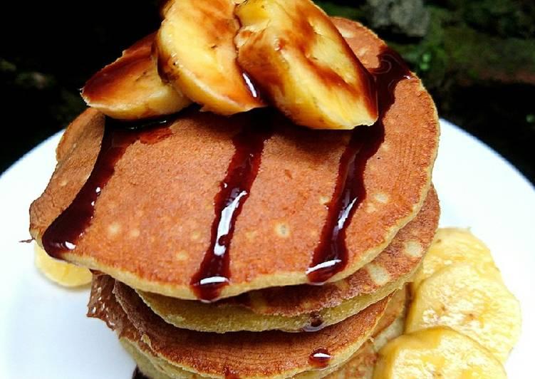 Resep Pancake Pisang Favorit