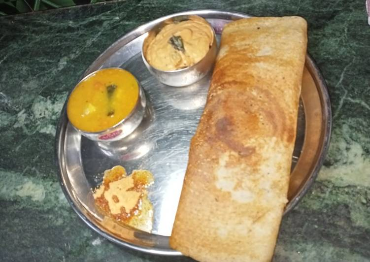 Easiest Way to Prepare Speedy Foxtail Millets dosa