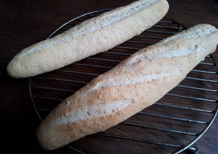Easiest Way to Prepare Yummy Baguettes au sésame