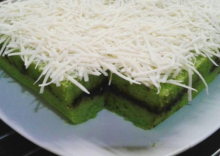 Bolkus pandan tepung beras