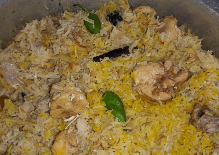 Deggi Chicken Biryani #kokabandcookpad