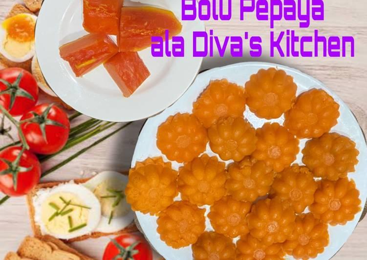 Bolu Pepaya ala Diva's Kitchen
