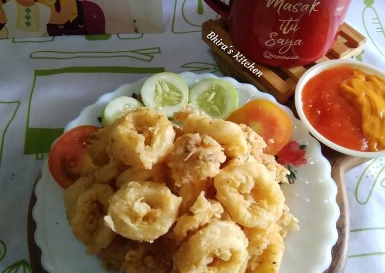 Cumi Goreng Tepung - cookandrecipe.com