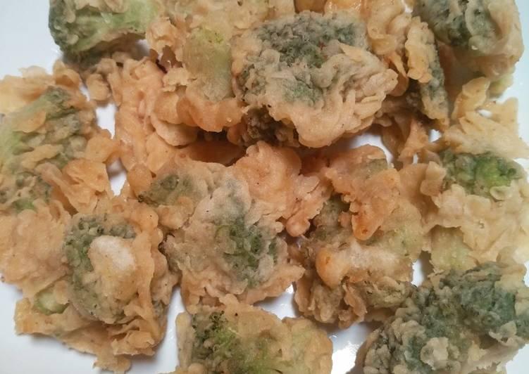 8 Resep: Brokoli goreng tepung crispy Anti Ribet!
