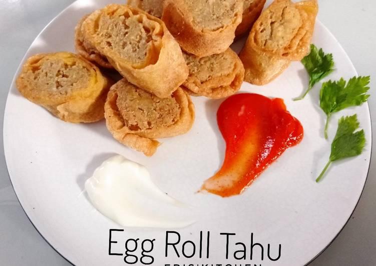 Egg Roll Tahu