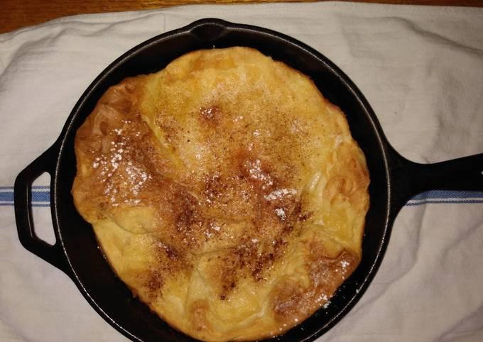 Black Iron Skillet German Pancakes