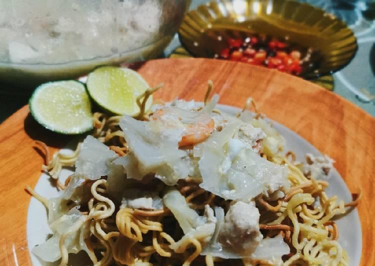 Resep Mie Titi khas Makassar simpel enakk ekonomis untuk dijual