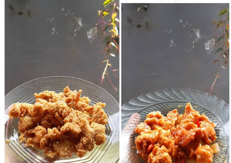 Ayam Fillet Crispy Asam Manis Pedas