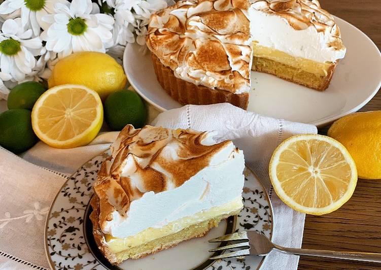 Comment Cuisiner Tarte au citron meringuée  @4PassionFood