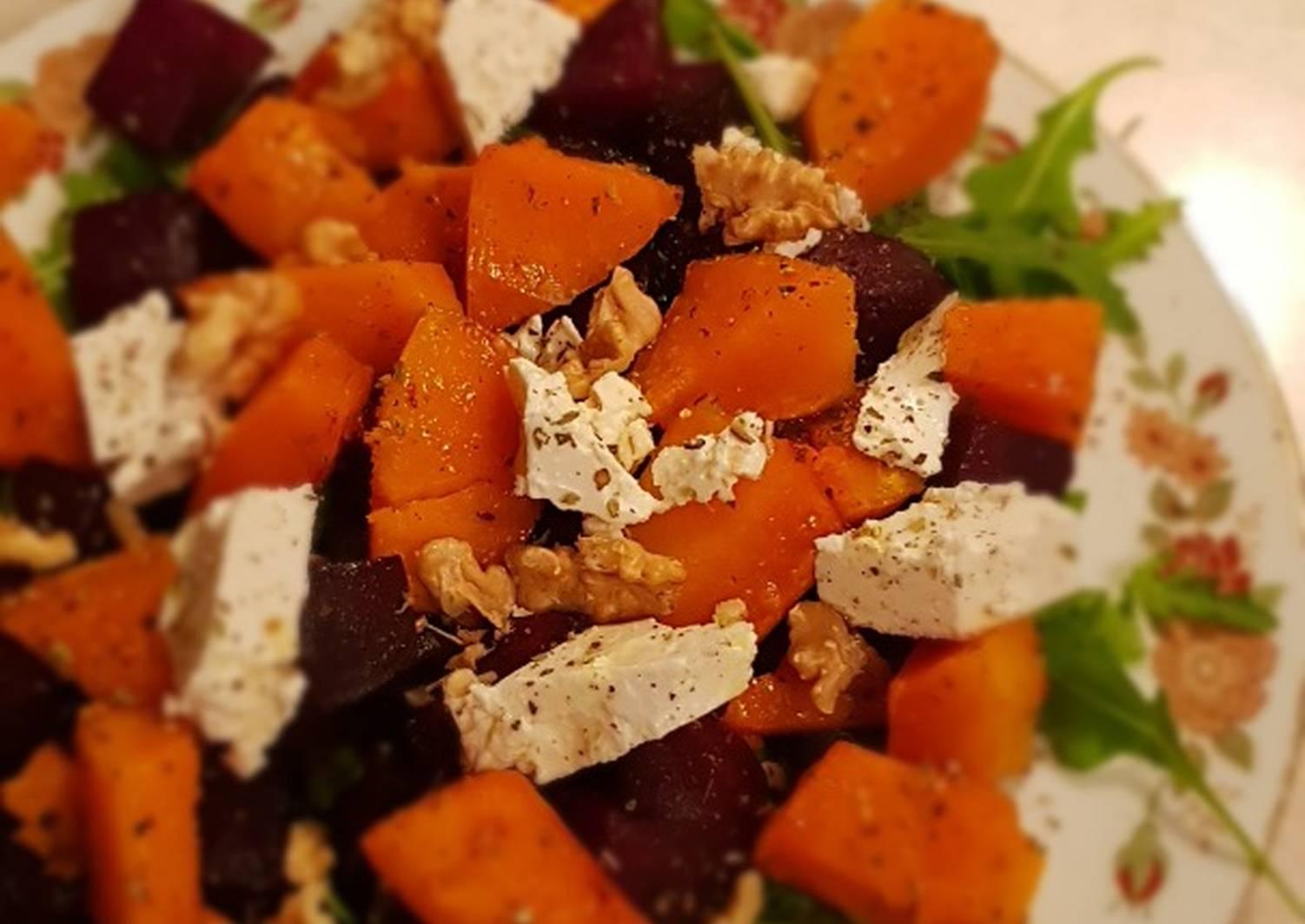 был салат из тыквы фото рецепт михайлович папа