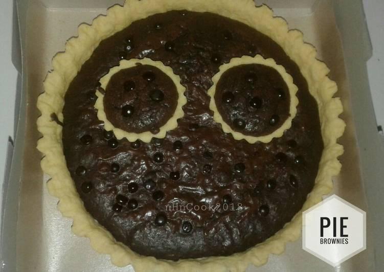 Pie Brownies Simpel
