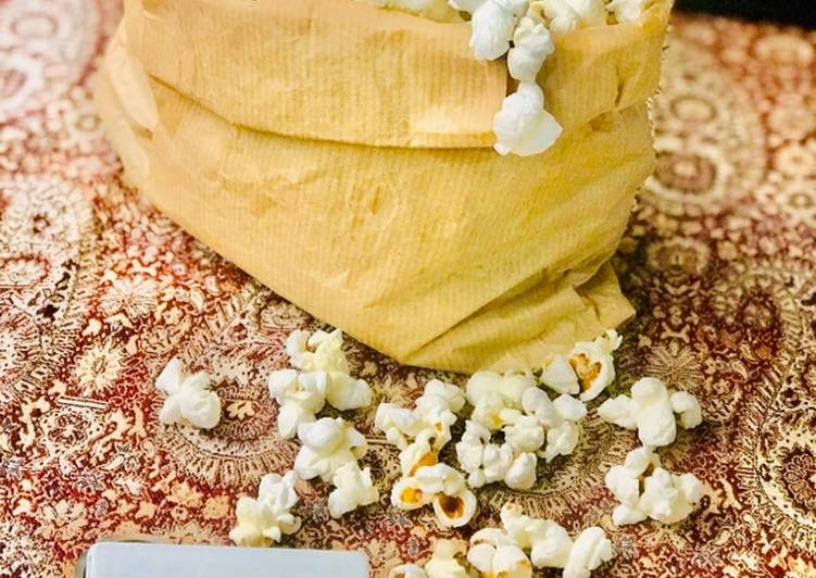 Steps to Prepare Super Quick Homemade Salted Popcorn �