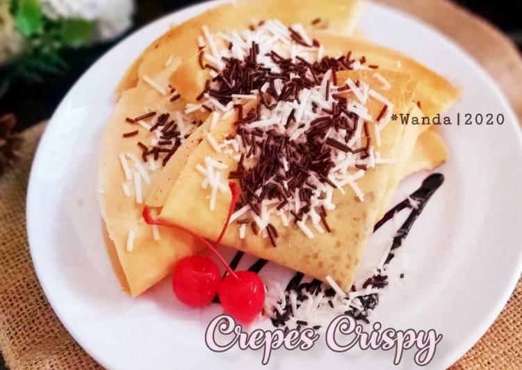 Crepes Crispy a.k.a Kue Leker Krispi