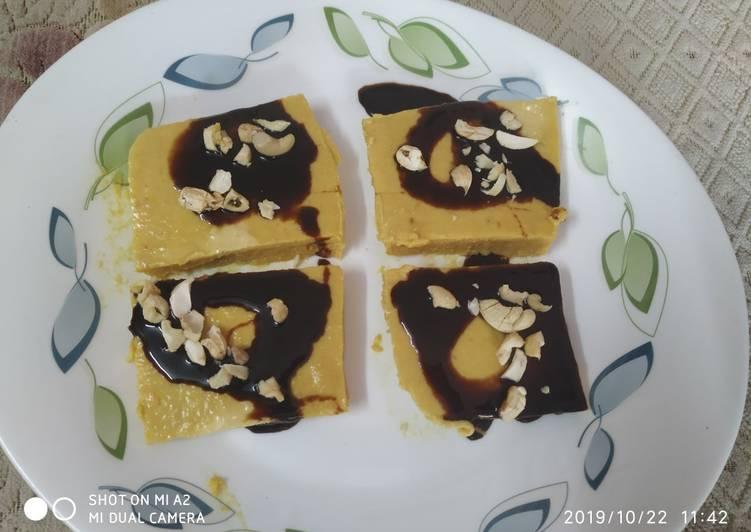 Biscuit custard pudding