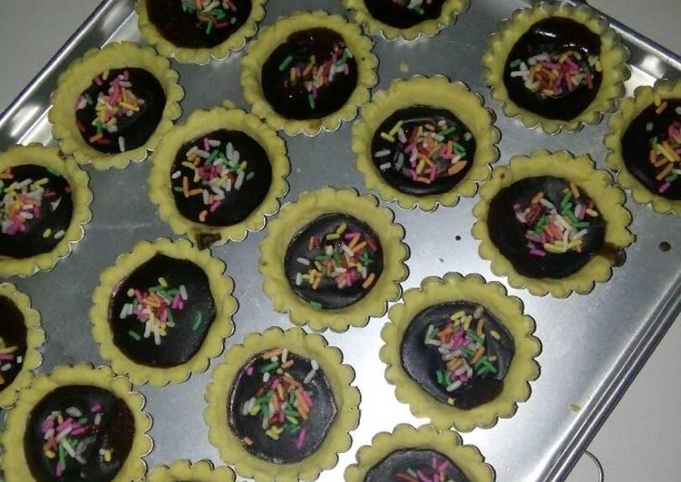 Resep Kue pie coklat misses bahan murah Favorit