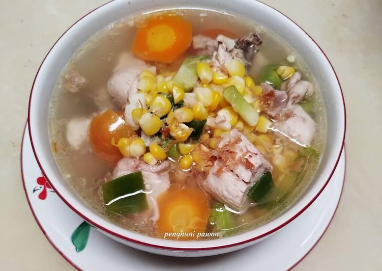 Sup ayam jagung 🐔 🌽